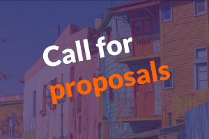 Deadline for proposals: July 31st, 2020